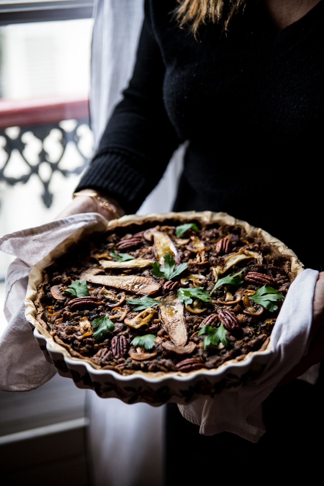 tarte-mimolette-champignons-noix-de-pecan-ophelies-kitchen-book-ophelie-lauret-2