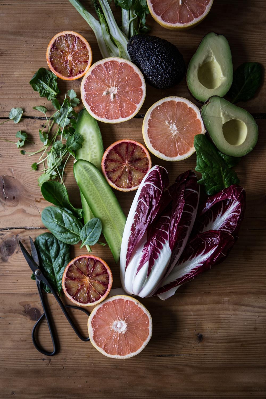 Salade sucrée-salée au pamplemousse de Floride - Lauret Ophelie - Ophelie's Kitchen Book-11