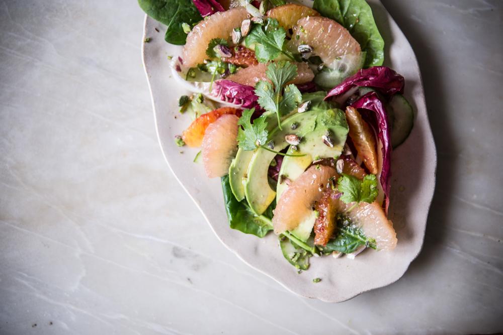 Salade sucrée-salée au pamplemousse de Floride - Lauret Ophelie - Ophelie's Kitchen Book-27