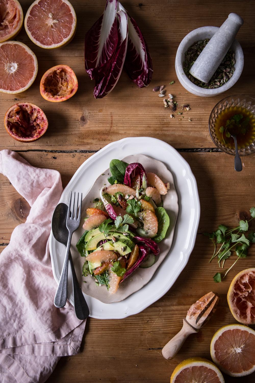 Salade sucrée-salée au pamplemousse de Floride - Lauret Ophelie - Ophelie's Kitchen Book-29