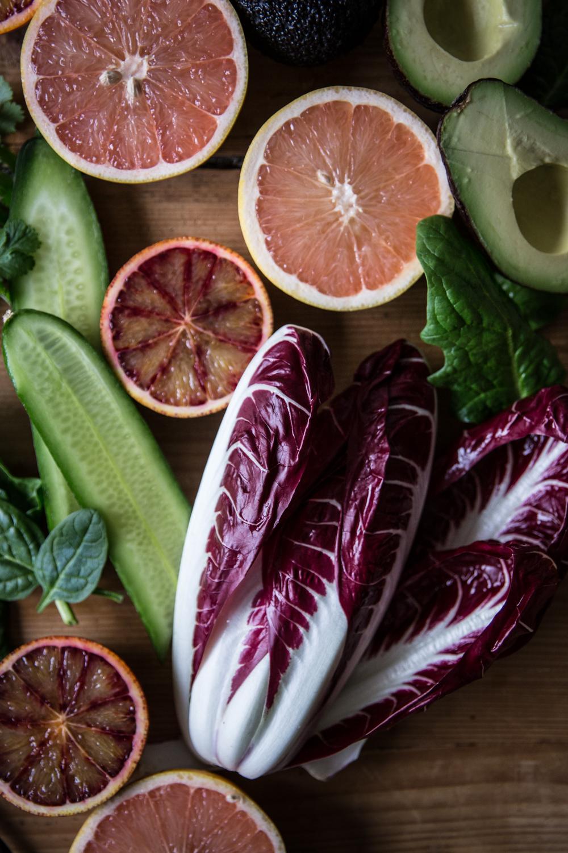 Salade sucrée-salée au pamplemousse de Floride - Lauret Ophelie - Ophelie's Kitchen Book-6