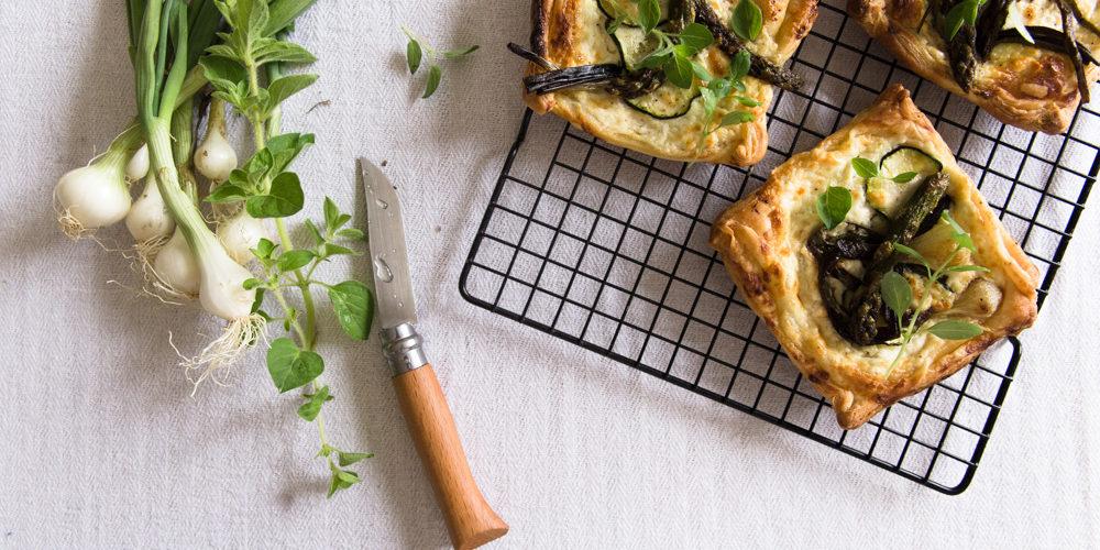 TArtelettes aux légumes de printemps - Ophelie Lauret - ophelie's Kitchen Book-2
