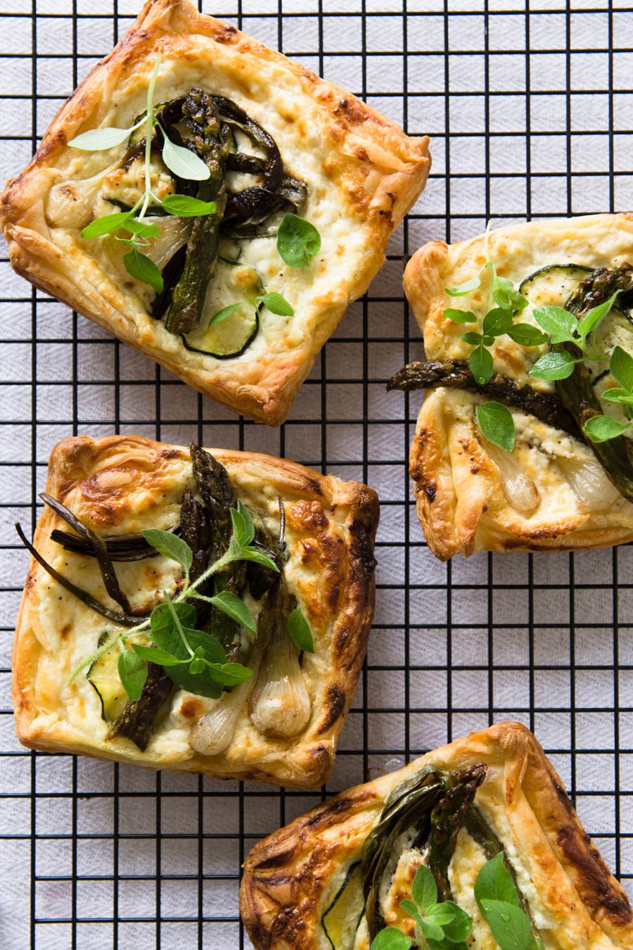 Tartelettes feta et légumes de printemps - Ophelie Lauret - ophelie's Kitchen Book-3