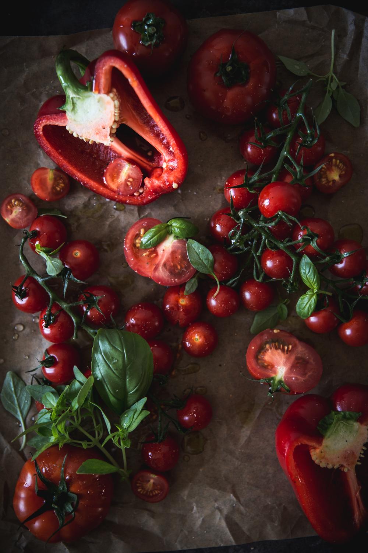 Soupe froide aux tomates rôties 1 - Ophelie Lauret - ophelie's Kitchen Book-3