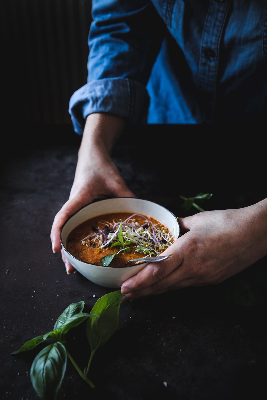 Soupe froide aux tomates rôties - Ophelie Lauret - ophelie's Kitchen Book-23