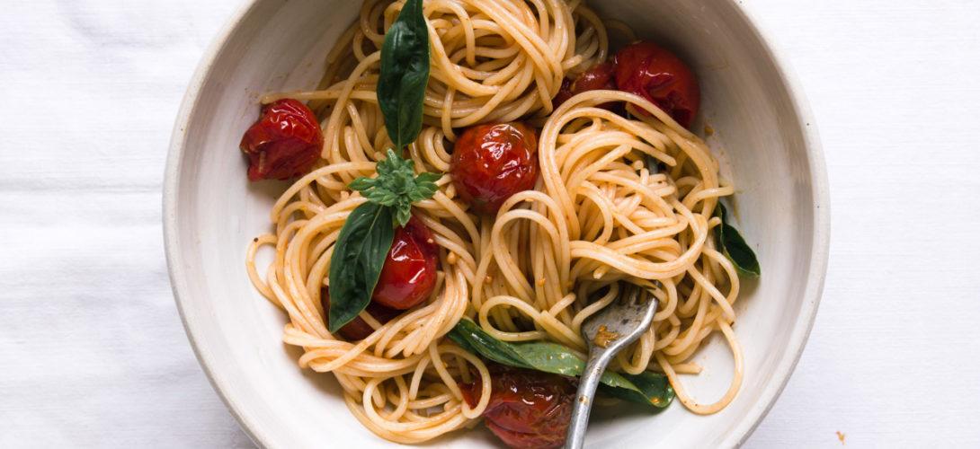 Spaghettis aux tomates cerises rôties - Ophelie's Kitchen Book - Ophelie Lauret-10