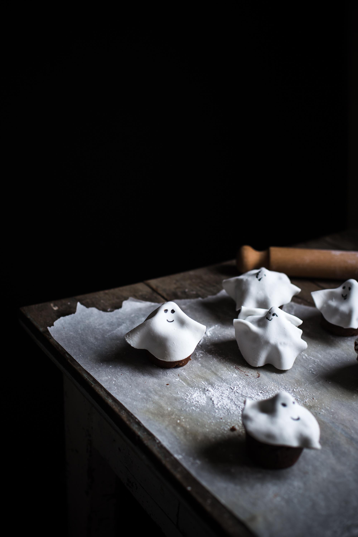 Muffins fantôme tout chocolat - Ophelie Lauret - Ophelie's Kitchen Book-15