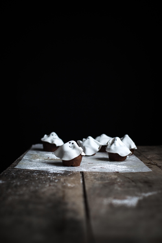 Muffins fantôme tout chocolat - Ophelie Lauret - Ophelie's Kitchen Book-17