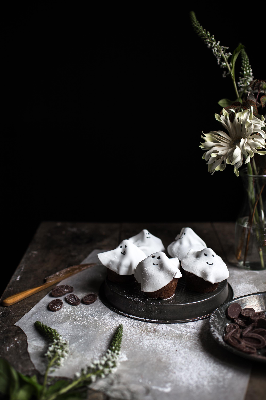 Muffins fantôme tout chocolat - Ophelie Lauret - Ophelie's Kitchen Book-19