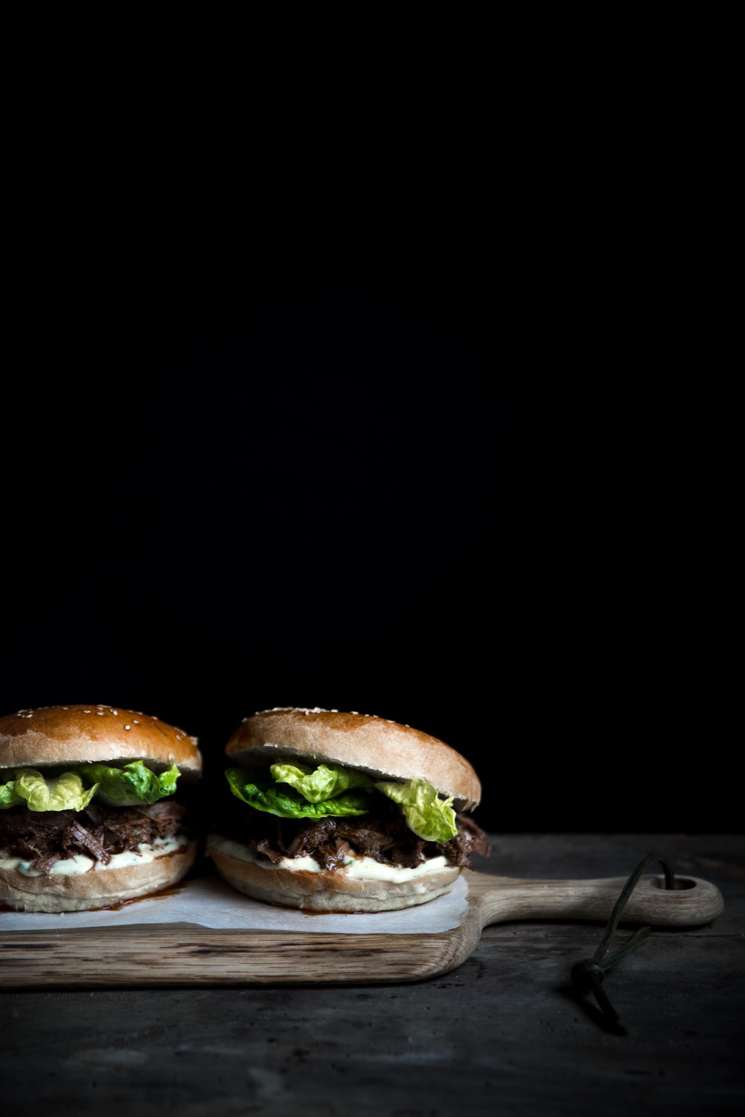 Burger de sanglier éffiloché - Ophelie Lauret - Ophelie's Kitchen Book-6