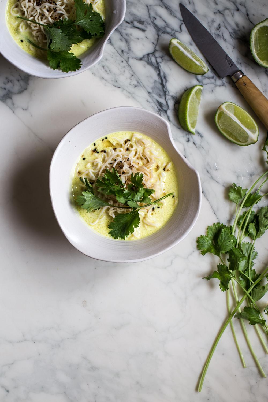Soupe au lait de coco & ramen - Ophelie's Kitchen Book -Ophelie Lauret-2