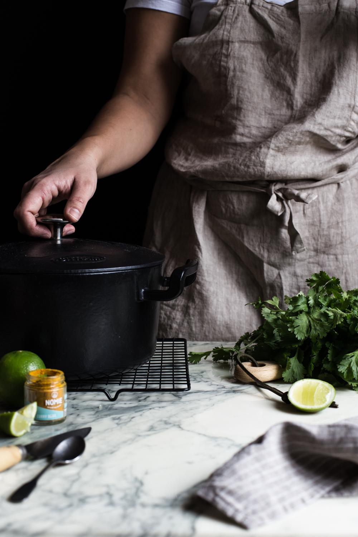 Soupe ramen au lait de coco - Ophelie's Kitchen Book -Ophelie Lauret