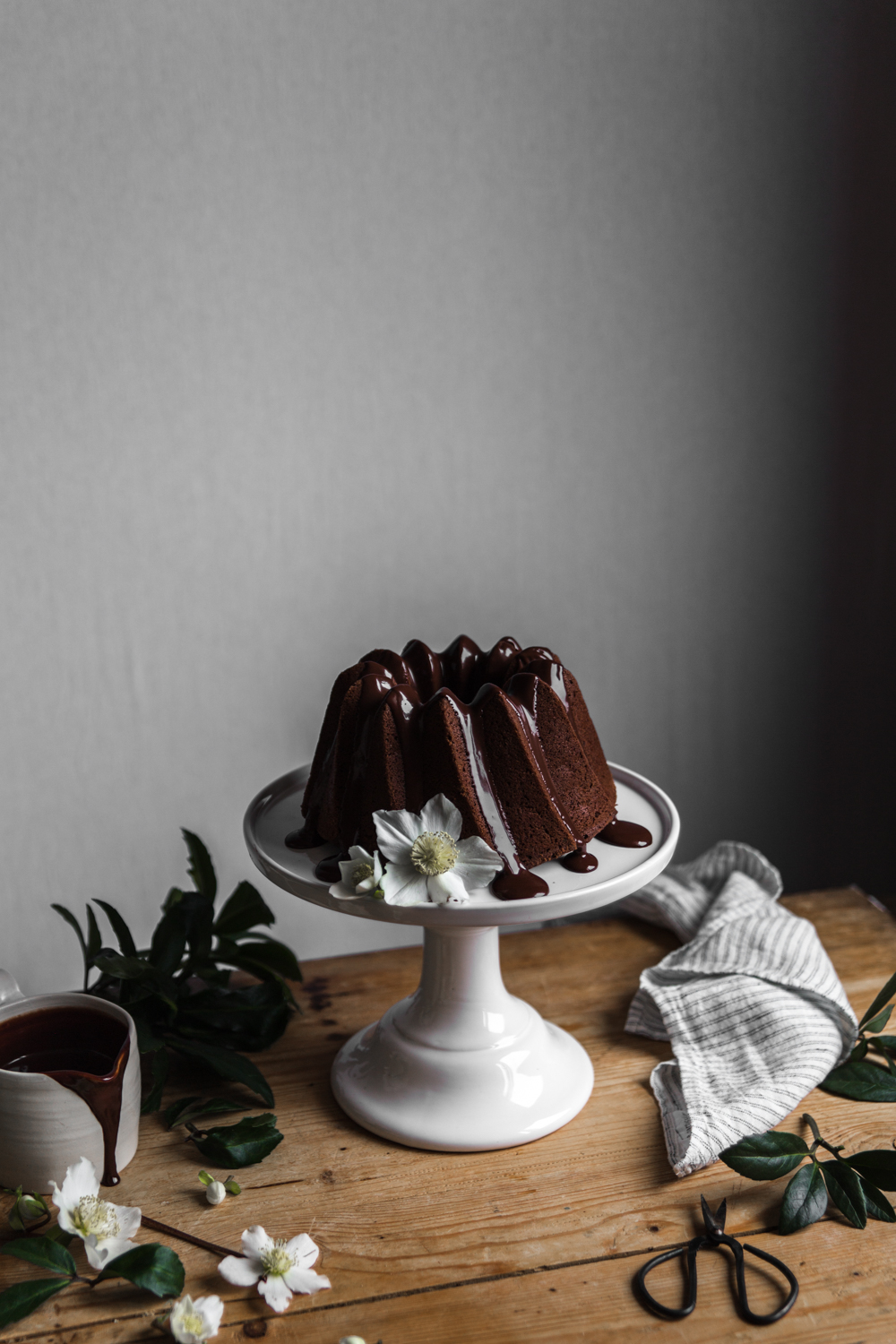 Bundt cake tout chocolat - Ophelie's Kitchen Book - Ophelie Lauret-20