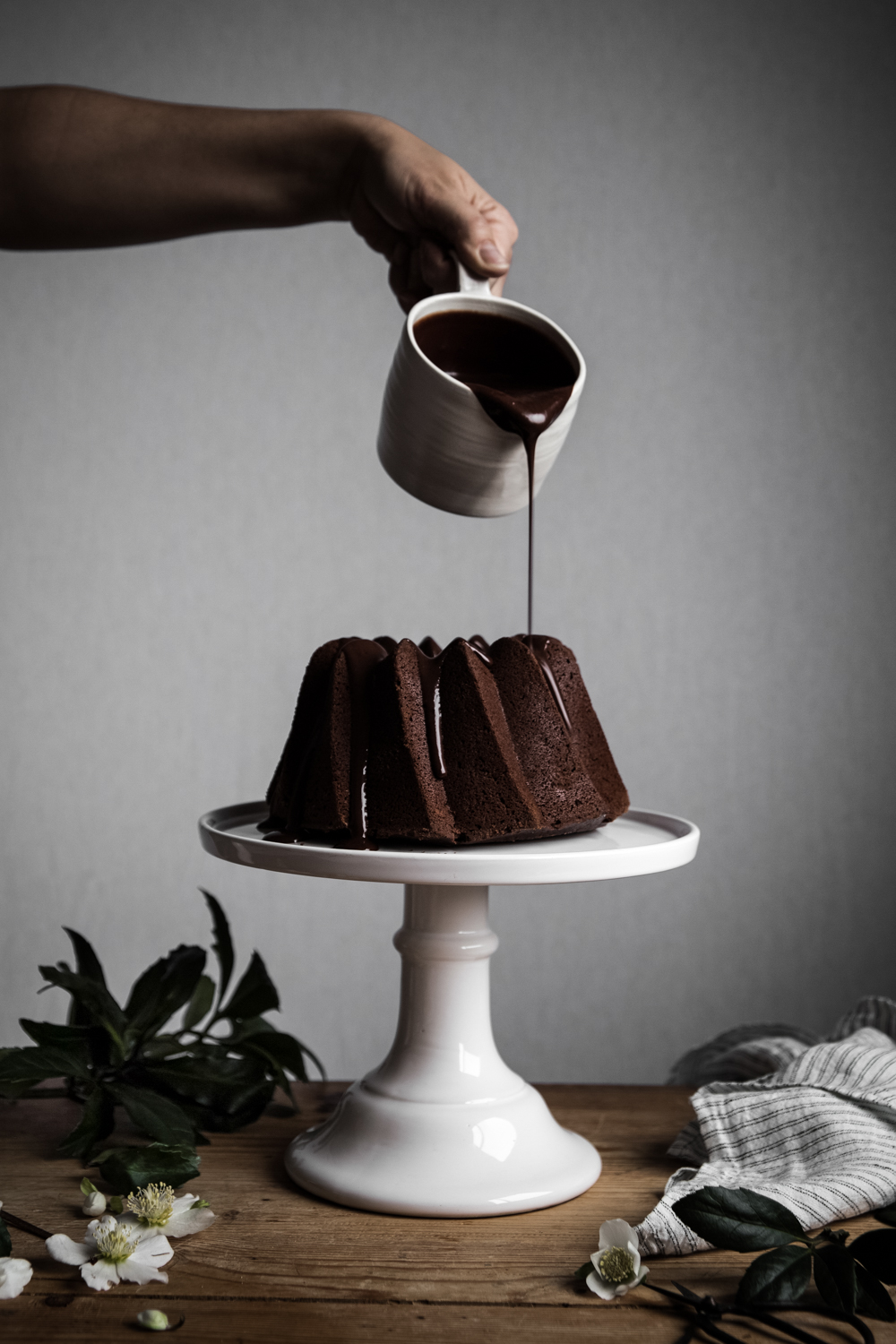 Bundt cake tout chocolat - Ophelie's Kitchen Book - Ophelie Lauret-22