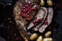 Gigot de chevreuil sauce groseille - Ophelie's Kitchen Book - Ophelie Lauret-7