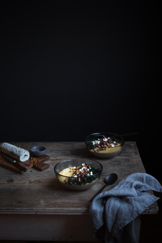 Polenta crémeuse au Sainte-Maure de Touraine - Ophelie's Kitchen Book -Ophelie Lauret-15