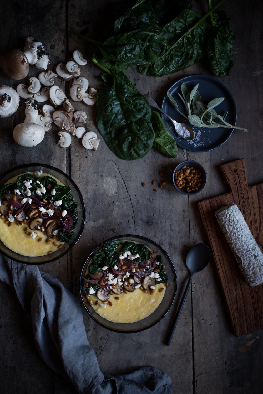 Polenta crémeuse au Sainte-Maure de Touraine - Ophelie's Kitchen Book -Ophelie Lauret-9