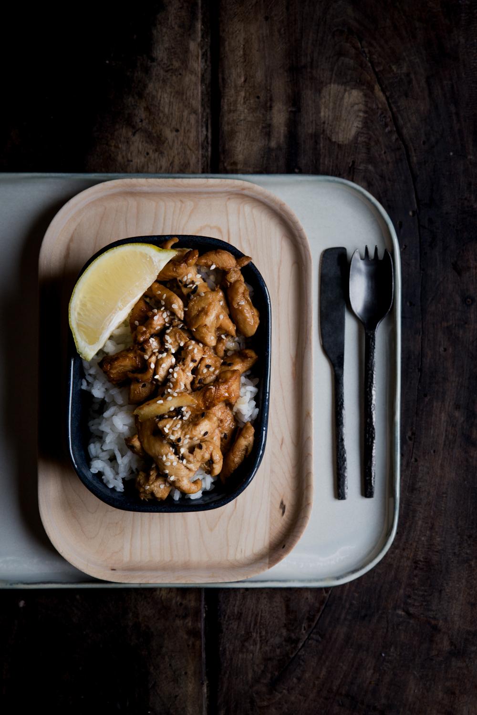 Poulet sauté au gingembre & sésame - Ophelie's Kitchen Book - Ophelie Lauret-18