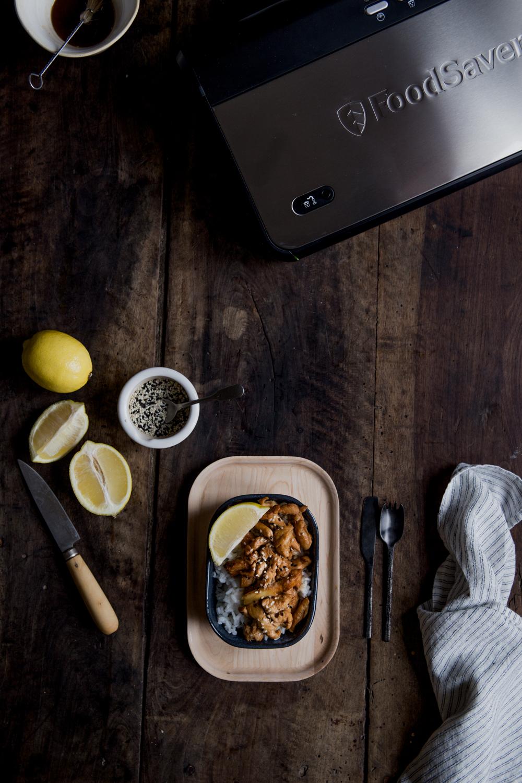 Poulet sauté au gingembre & sésame - Ophelie's Kitchen Book - Ophelie Lauret-20