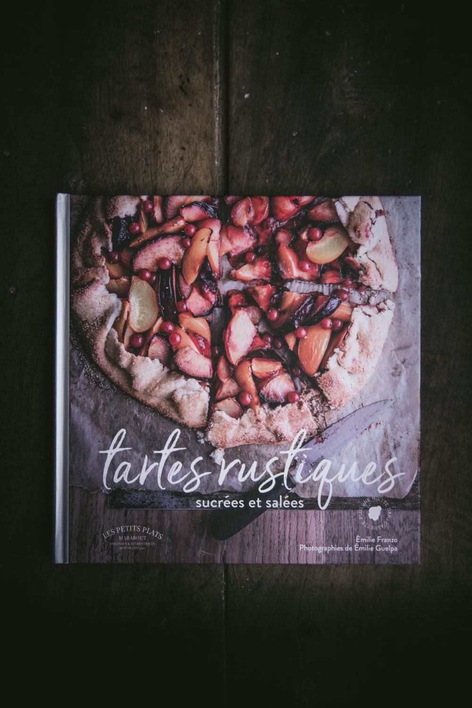 Livre Tartes Rustiques Plus Une Miette dans L'Assiette - Ophelie Lauret-7