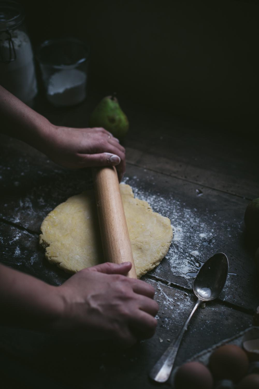 Tarte rustique aux poires - Ophelie's Kitchen Book - Ophelie Lauret-10