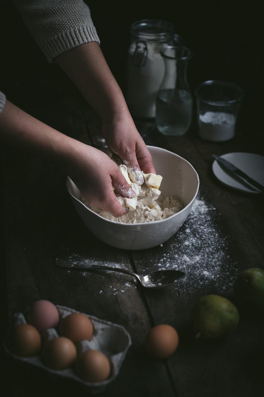 Tarte rustique aux poires - Ophelie's Kitchen Book - Ophelie Lauret-4