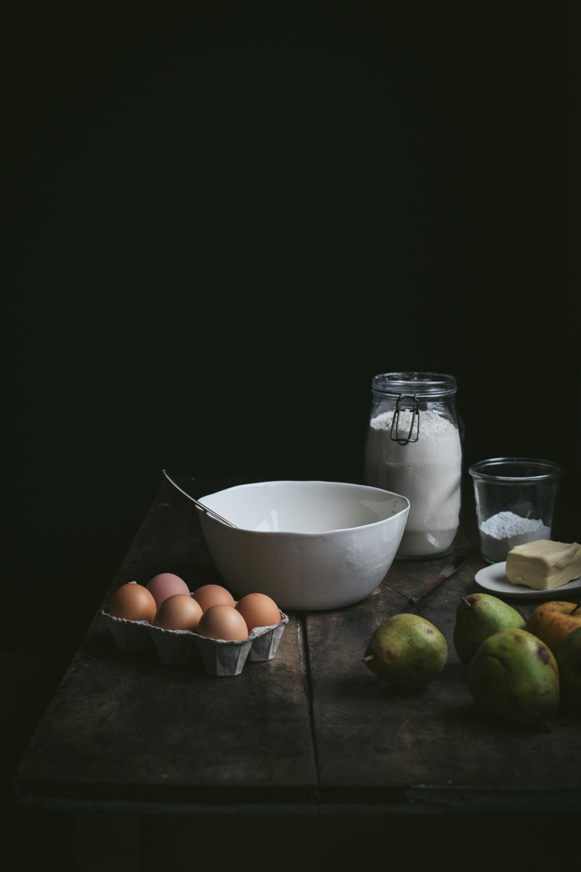Tarte rustique aux poires - Ophelie's Kitchen Book - Ophelie Lauret