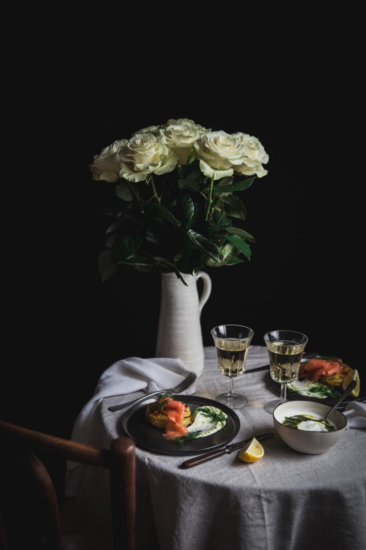 Mille-feuilles de pommes de terre au four saumon et sauce yaourt aneth - Ophelie Lauret - Ophelie's Kitchen Book-4