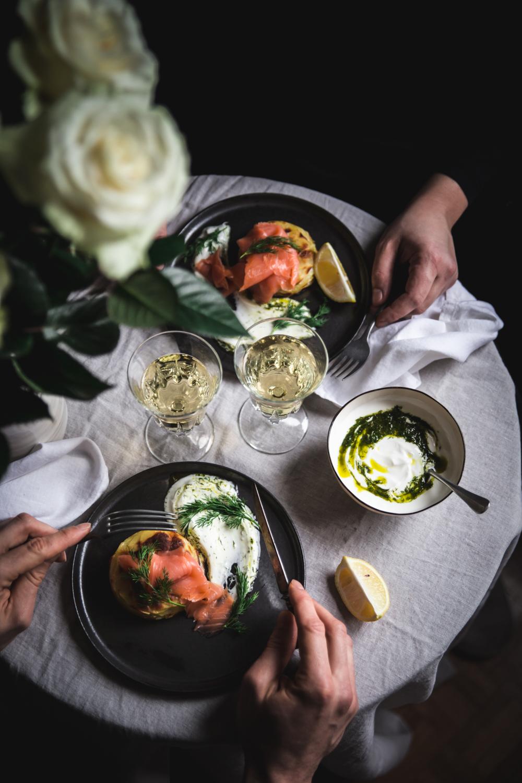 Mille-feuilles de pommes de terre au four saumon et sauce yaourt aneth - Ophelie Lauret - Ophelie's Kitchen Book-6