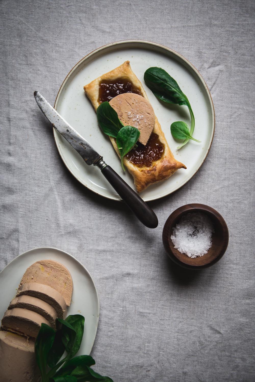 Tartelette feuilletée confit d'oignon et foie gras - Ophelie Lauret - Ophelie's Kitchen Book-4