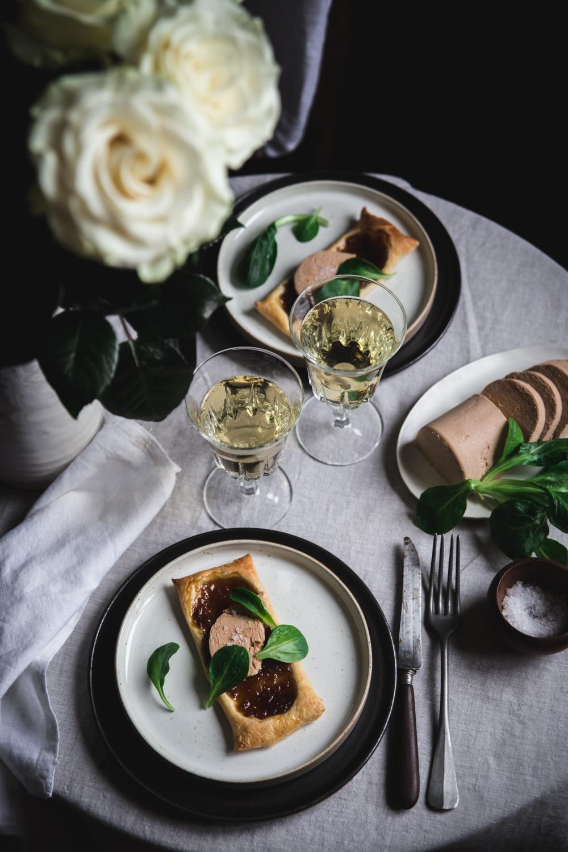 Tartelette feuilletée confit d'oignon et foie gras - Ophelie Lauret - Ophelie's Kitchen Book-6