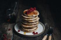 Pancakes à la banane - Ophelie's Kitchen Book - Ophelie Lauret
