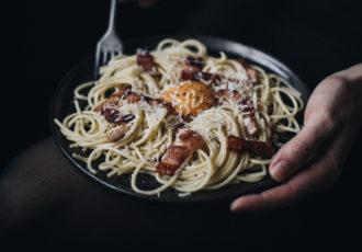 Spaghetti à la sauce Carbonara - Ophelie's Kitchen Book - Ophelie Lauret-3