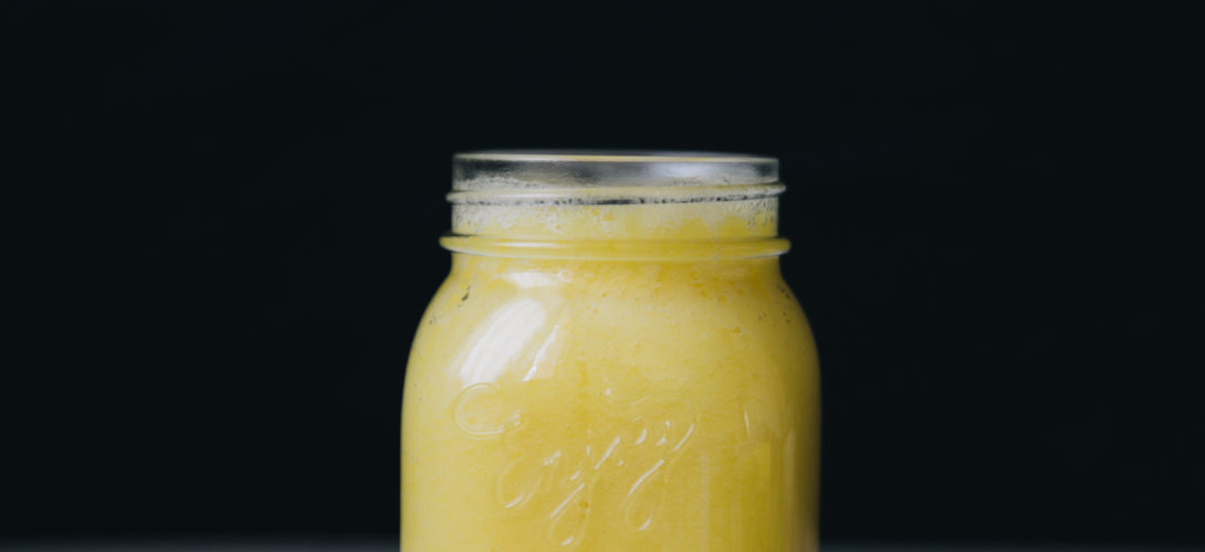 Smoothie ananas mangue eau de coco - Ophelie's Kitchen Book-7