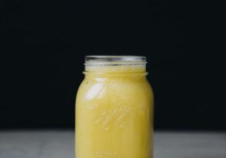 Smoothie ananas mangue eau de coco - Ophelie's Kitchen Book-7