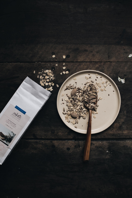 tartine sans gluten burrata & herbes & petits pois - Maison Louno - Ophelie's Kitchen Book-7