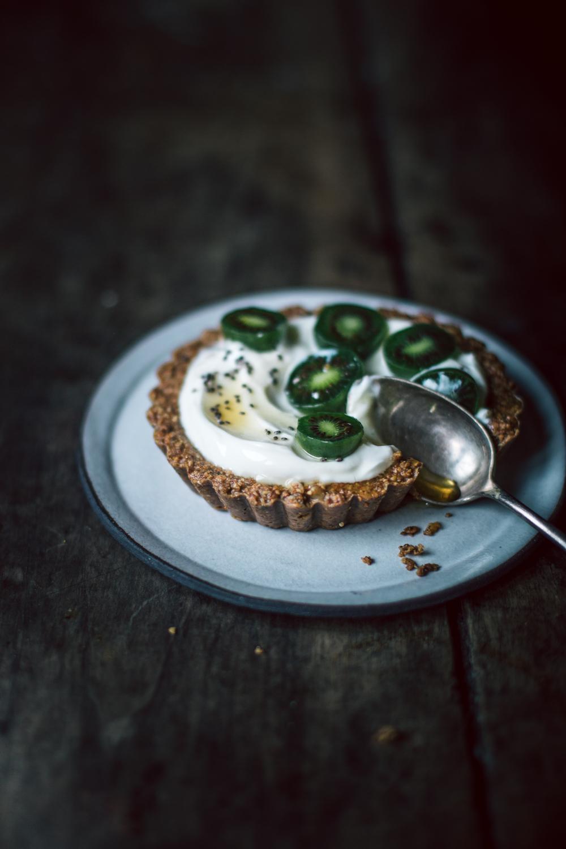 Tartelette petit-déjeuner au Nergi (baby kiwi) - Ophelie's Kitchen Book-9