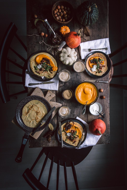 Dosas d'automne (crêpe à la farine de pois chiches) pour un brunch chaleureux - Ophelie's Kitchen Book_-2
