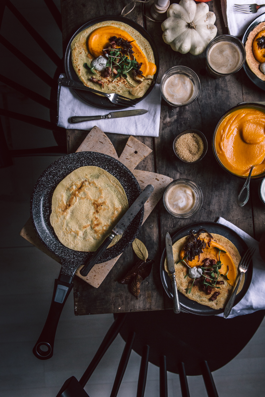 Dosas d'automne (crêpe à la farine de pois chiches) pour un brunch chaleureux - Ophelie's Kitchen Book_-4