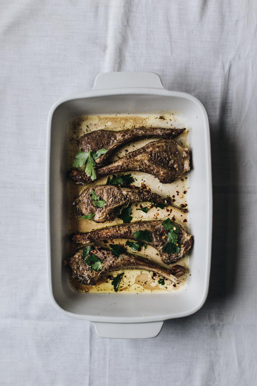 Côtelettes d'agneau rôties aux épices - Ophelie's Kitchen Book-4
