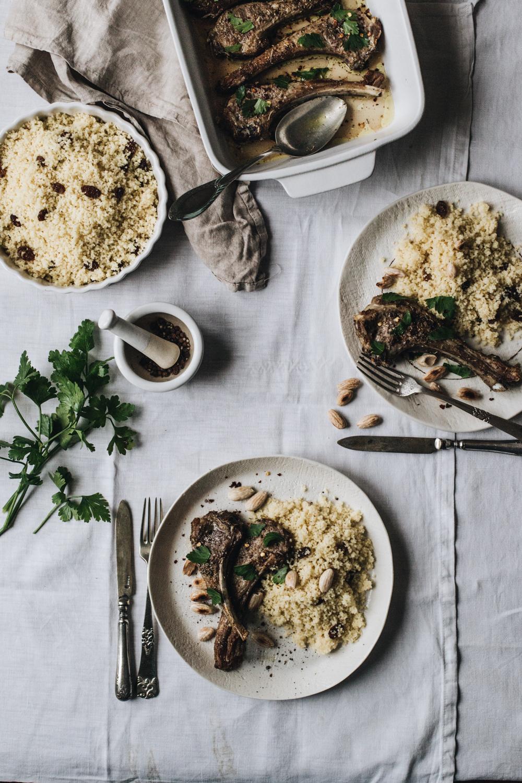 Côtelettes d'agneau rôties aux épices - Ophelie's Kitchen Book