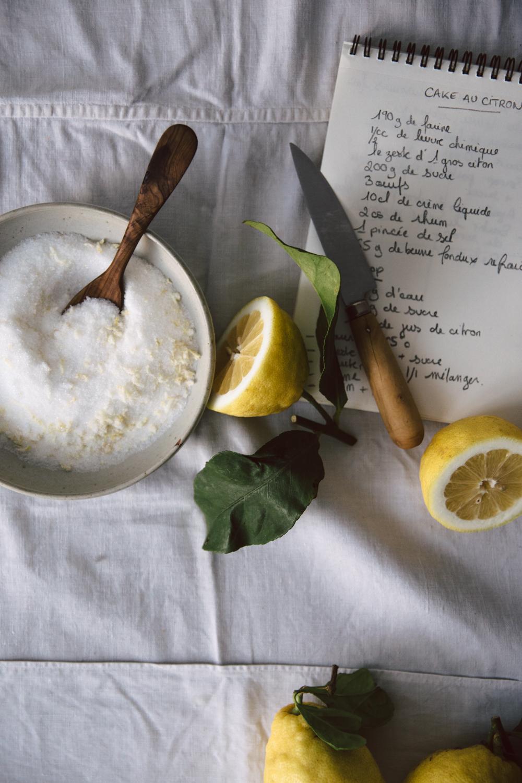Cake au citron moelleux et acidulé - Ophelie's Kitchen Book-10