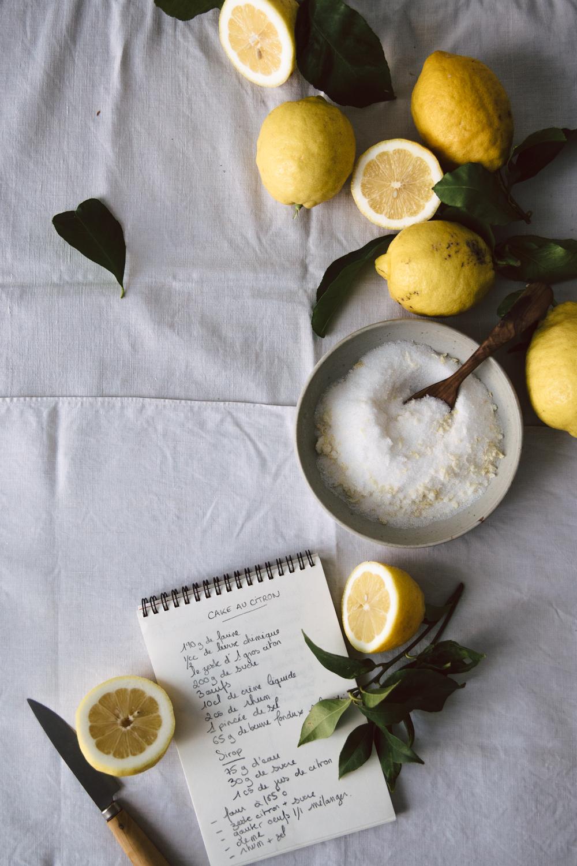 Cake au citron moelleux et acidulé - Ophelie's Kitchen Book