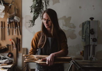Dans l'atelier de Morgane Knieja Wood - Ophelie's Kitchen Book