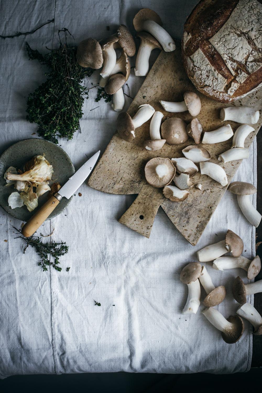 Bruschettas aux champignons et ricotta - Ophelie's Kitchen Book-5