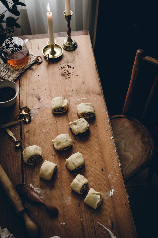 Brioches roulées aux épices et glaçage au thé Tsarevna