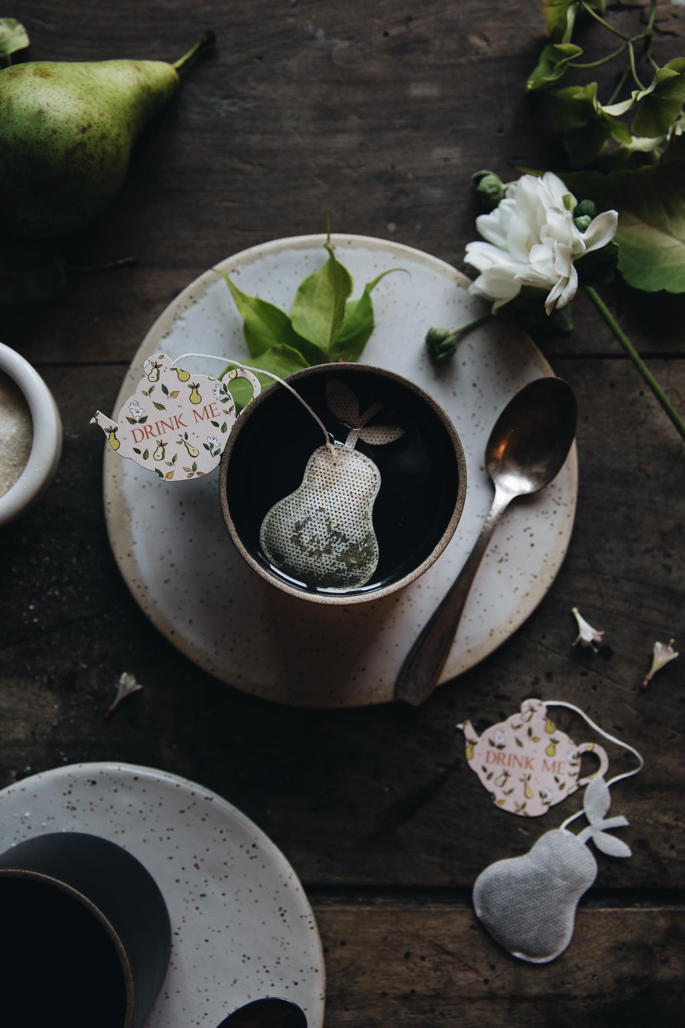Songe de Poire Ophelie's Kitchen Book X Tea Heritage